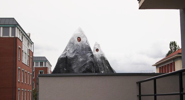 Berge/ Installation/ Sara Wendt & Lynn Seemann